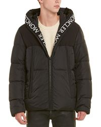 Moncler Hooded Padded Down Coat