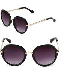 Fantaseyes - Gradient 53mm Round Sunglasses - Lyst