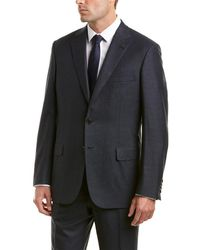 Brioni - 2pc Wool Suit With Flat Pant - Lyst