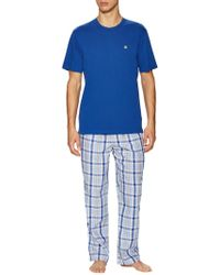 Brooks Brothers - Loungeset Multi Plaid Pyjama Trousers - Lyst