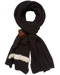 """Donni Charm - Donni Parallel Wool Long Scarf, 120"""" X 30"""" - Lyst"""