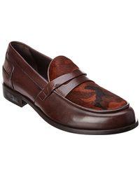 Donald J Pliner - Leather Loafer - Lyst