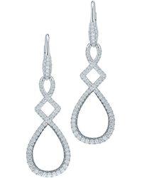 Kwiat - Twilight 18k 2.13 Ct. Tw. Diamond Drop Earrings - Lyst