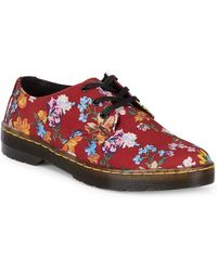 Dr. Martens - Gizelle Floral Low-top Trainers - Lyst