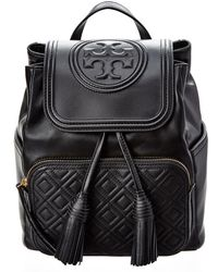 Tory Burch - Fleming Leather Backpack - Lyst