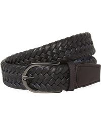 J.Lindeberg - Brayden Cow Leather Belt - Lyst