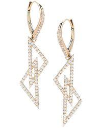 Dana Rebecca - Designs Isabelle Brooke 14k 0.78 Ct. Tw. Diamond Drop Earrings - Lyst