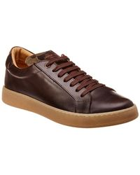Jared Lang - Leather & Suede Trainer - Lyst