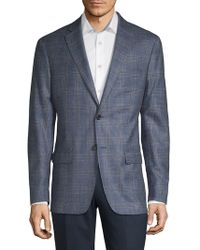 Lauren by Ralph Lauren - Plaid Wool-blend Suit Jacket - Lyst