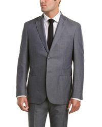 Michael Bastian - Grey Label Michael 2pc Wool Suit With Flat Pant - Lyst