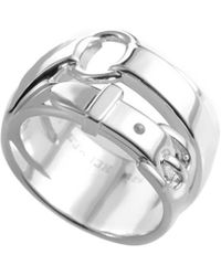 Hermès - Belt Silver Ring - Lyst