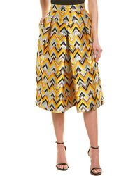 MILLY - Clarisa A-line Skirt - Lyst