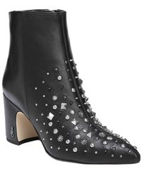 Sam Edelman - Hal Leather Bootie - Lyst