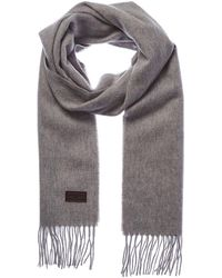 Hickey Freeman - Cashmere Solid Woven Scarf - Lyst