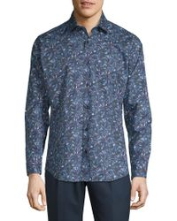 Jared Lang - Printed Casual Button-down Shirt - Lyst