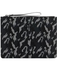 Deals Online Cheap Big Discount Giuseppe Zanotti Camouflage fabric pouch with rubber finishing MARCEL Cheap Wide Range Of Find Great Cheap Price New Cheap Price XVIlIMiN