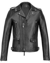 Giuseppe Zanotti - Leather Biker Jacket Denzel - Lyst