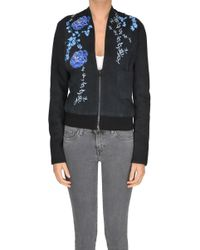 Vintage De Luxe - Embroidered Suede Jacket - Lyst