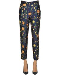 Seventy - Jacquard Cloth Trousers - Lyst