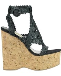 Paloma Barceló - Claviers Woven Rope Wedge Sandals - Lyst