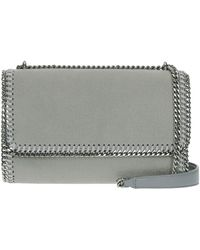 84e8a16ddfd6 Lyst - Stella Mccartney  Falabella Shaggy Deer  Crossbody Bag in ...