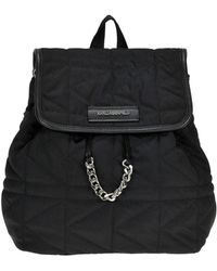 Karl Lagerfeld - Quilted Nylon Backpack - Lyst