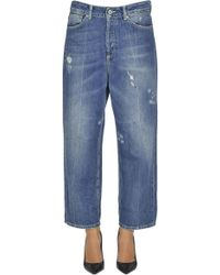 Dondup - Shocking Cropped Jeans - Lyst