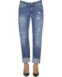 Dondup - Silona Destroyed Jeans - Lyst