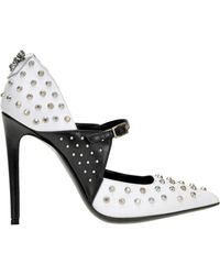 John Richmond - Studded Leather Pumps - Lyst