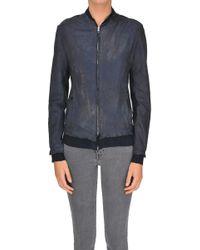 Salvatore Santoro - Old-looking Effect Leather Jacket - Lyst