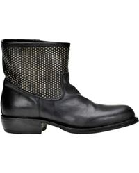 Fiorentini + Baker - Calu Studded Leather Boots - Lyst
