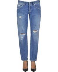 Dondup - Segolene Boyfriend Jeans - Lyst