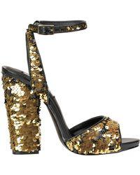 14d1f7306f24 Lyst - Steve Madden Double Sandal (women) in Brown