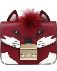 Furla - 'metropolis Jungle Fox' Mini Shoulder Bag - Lyst