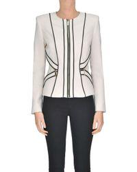 Elisabetta Franchi - Viscose-blend Jacket - Lyst