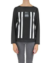 Patrizia Pepe - Sequined Blouse - Lyst