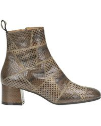Maliparmi - Reptile Print Leather Ankle-boots - Lyst