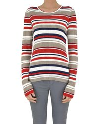 Happy Sheep - Striped Pullover - Lyst