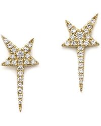 Anne Sisteron - Star Wand Earrings - Lyst