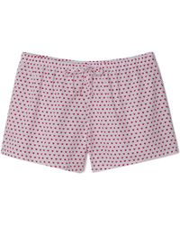 Sleepy Jones - Paloma Pajama Shorts - Lyst