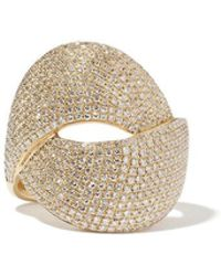 Anne Sisteron Diamond Luxe Twist Yellow-gold Ring