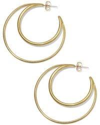 Soko Jewelry - Gio Hoops Earring - Lyst