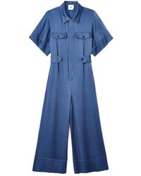 G. Label by goop - Shirley Short-sleeve Jumpsuit - Lyst