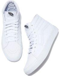 Vans - Women's Milton Hi Canvas High-top Sneaker - Lyst