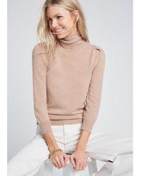 G. Label by goop - Jennifer Puff-sleeve Sweater - Lyst