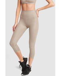 Alo Yoga - High-waist Airbrush Capri - Lyst