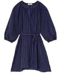 lemlem - Abha Belted Mini Dress - Lyst