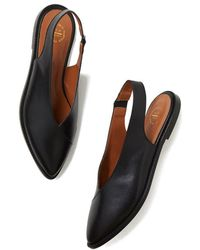 Atp Atelier - Bee Slingback Flats - Lyst