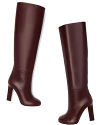 Victoria Beckham - Rise Knee-high Leather Boots - Lyst