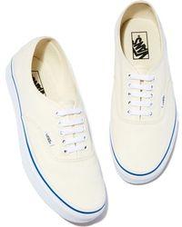 2db1bb4d19 Vans Gumsole Authentic Lo Pro Sneaker in White - Lyst
